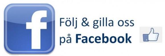Följ oss gärna på Facebook
